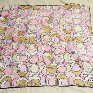 Nice Coach square scarf cloth